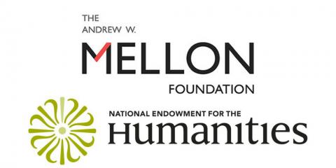Mellon and NEH logos