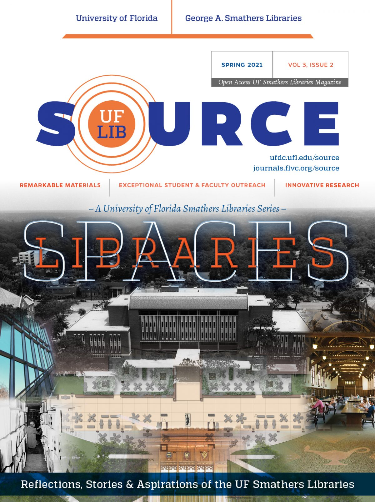 UF Libraries SOURCE Magazine Spring 2021